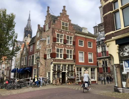 Buildings in Delft, the Netherlands