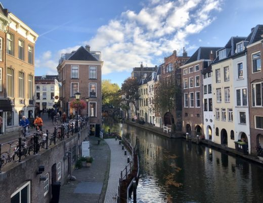 Canal in Utrecht, the Netherlands